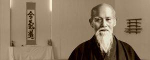 Image du fondateur de l'aïkido